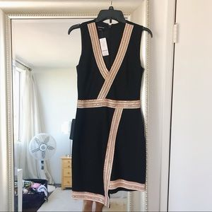 NWT BEBE Embroidery Dress SIZE M